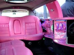 Rose Limosine Limousine Rose Pink Princess Interieur Youtube