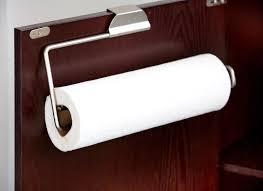 Kitchen Towel Holder Amazoncom Home Basics Over The Cabinet Paper Towel Holder