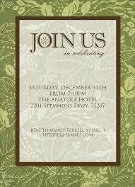 Dinner Party Invitation Sample Familycourt Us