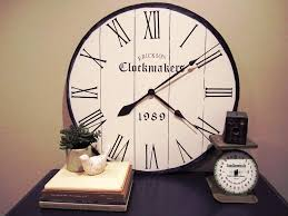 Small Picture Contemporary Oversized Wall Clocks Jen Joes Design Buying