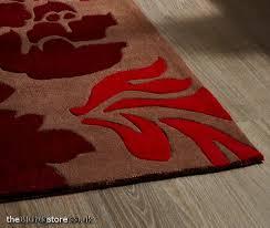 hong kong brown red rug hk 33l larger image