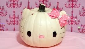Small Pumpkin Painting Hello Kitty Pumpkin Youtube