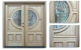 exterior front doors exterior double doors wood front door with sidelights half glass