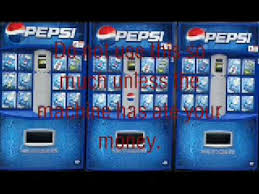 How To Get Money From A Vending Machine Hack Impressive How To Hack A Pepsi Machine YouTube