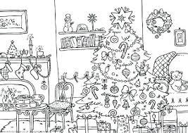 Free Printable Holiday Coloring Pages For Adults Christmas Childrens
