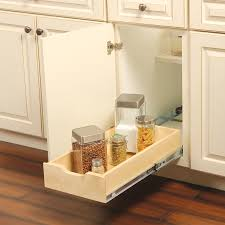 Knape Vogt 1178 In W X 5 In 1 Tier Pull Out Wood Soft Close
