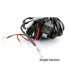 detail feedback questions about led light bar work light wire led light bar work light wire harness remote single dual for off road auto driving work