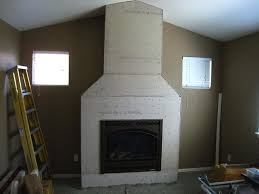 how to install stacked stone veneer progress shot cement board prep