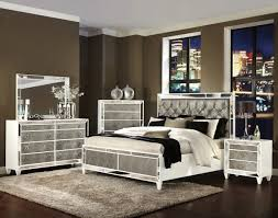 bedroom with mirrored furniture. Bedroom : Classy White Mirrored Master Furniture Set And Intended For With
