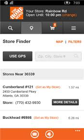 Small Picture The updated Home Depot app brings you an enhanced shopping
