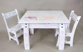image of white kids chairs ikea