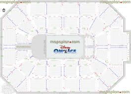Allstate Arena Floor Plan Allstate Arena Rosemont Seating