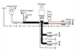 how to install offroad led light bar w relay switch 7 steps picture of before you get started you can refer to this wiring map so you