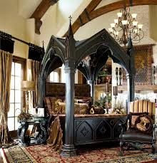 amazing bedroom awesome black. Gothic-bed-frame-amazing-bedroom-furniture-design-of-black -designed-throughout-25.jpg Amazing Bedroom Awesome Black A