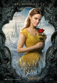 this poster is what inspired me to make the belle makeup look belle pla by emma watson is shown here with a very very natural makeup look