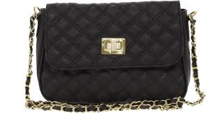 9 Affordable Quilted Handbags You Could Easily Mistake for Chanel ...… & Quilted Lock Crossbody Bag Adamdwight.com