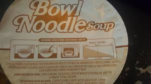This Microwave Noodle Bowl Includes A Noodle Texture Chart