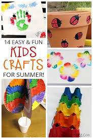 easy crafts for kids to beat summer boredom