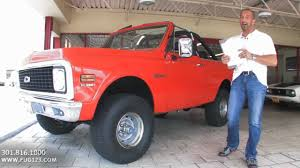 1972 Chevrolet Blazer for sale with test drive, driving sounds ...