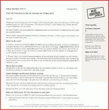 Fresh Auto Insurance Cancellation Letter Template Job Latter