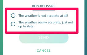 Pokemon Go Weather Chart Pokemon Go Weather System Guide Function Spawn Effects