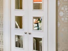 Mirror Closet Doors For Bedrooms Interior Interesting Bedroom Design With Large Mirrored Closet