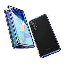 Wigento Handyhülle »Beidseitiger 360 Grad Magnet / Glas Case Bumper für  Samsung Galaxy A52 5G A525 Handy Tasche Case Hülle Cover New Style« online  kaufen