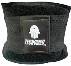 Tecnomed Xtreme Power Fitness Belt Thermo Shaper Unisex Black