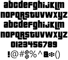 down font retro png letters generator png