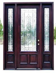 amusing wood and glass front door 44 metal entry doors with iron