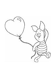 Hartjes Ballon Kleurplaat Tropicalweather