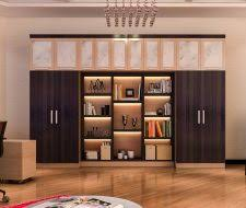 Custom Home Office Cabinetry Design and Install