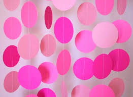 birthday decorations diy birthday decoration pink party decorations paper garlands for ideas mom birthday decoration birthday party favors diy