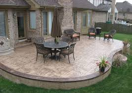 patio with pool simple. Brilliant With Stamped Concrete Patio Designs  U2026 Patios Pool Decks Decortive Concrete Throughout Patio With Simple
