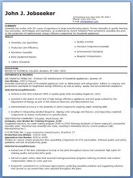 Assembly Line Worker Resume Sample Resume Ideas
