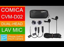 <b>Микрофон Comica CVM-D02</b> (<b>B6.0m</b>)