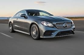 Mercedes-Benz E-Class Coupe And Wagon: 2018 Motor Trend Car Of The Year  Contender