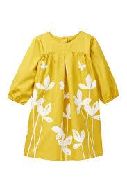 Tea Collection Size Chart Tea Collection Yuzu Floral Butterfly Print Trapeze Dress Toddler Little Girls Big Girls Nordstrom Rack