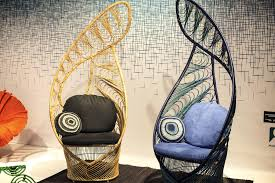 kenneth cobonpue furniture. Peacock Chairs From Kenneth Cobonpue Inspired By Traditional Wicker Furniture