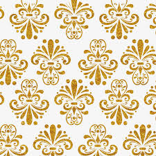 Gold Pattern Simple Gold Pattern Background Wallpaper Design Frame Shading Borders