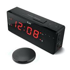 sonic boom alarm clocks with bed shaker boom jumbo led alarm clock with wireless bed shaker sonic boom alarm clocks