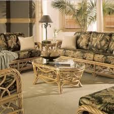 fascinating wicker living room