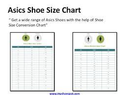 Asics Womens Size Chart