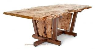fabulous contemporary wood dining table contemporary rustic dining tables live edge tables natural slab