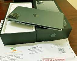 Iphone 11 Pro Max 64GB MIdnight Green Viettel FullBox - 26.500.000đ