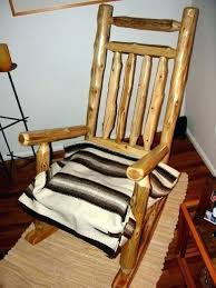 log rocking chair plans kitcutme