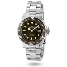 invicta men s pro diver swiss quartz watch brown bezel 4857 invicta men s pro diver swiss quartz watch brown bezel 4857