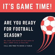 Football Invitation Template Customize 68 Football Invitation Templates Online Canva