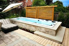 hot tub pool swim spas hot tub pool combo above ground