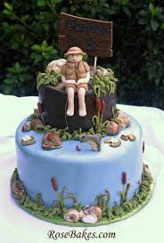 5% coupon applied at checkout. Little Boy Fishing Birthday Cake